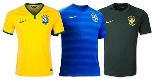 5add8f2f50 Personalize Sua Camisa Seleção Brasileira Copa do Mundo 2014 - Price ...